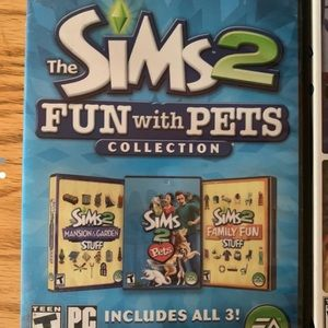 The Sims 2 Fun with pets collection